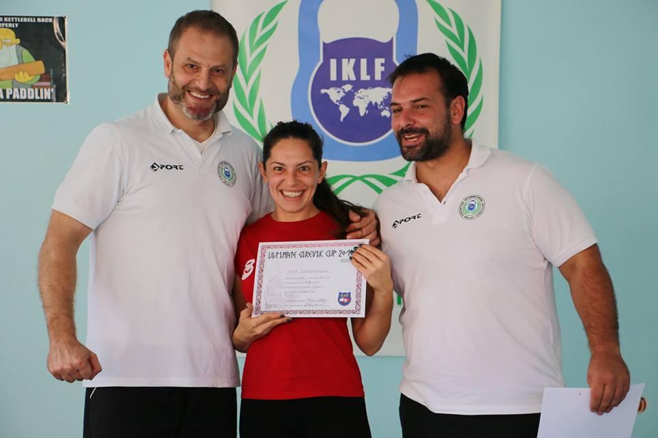 Τρίτη στον κόσμο στο Ultimate Girevik Cup Σοφία Ζαφειροπούλου