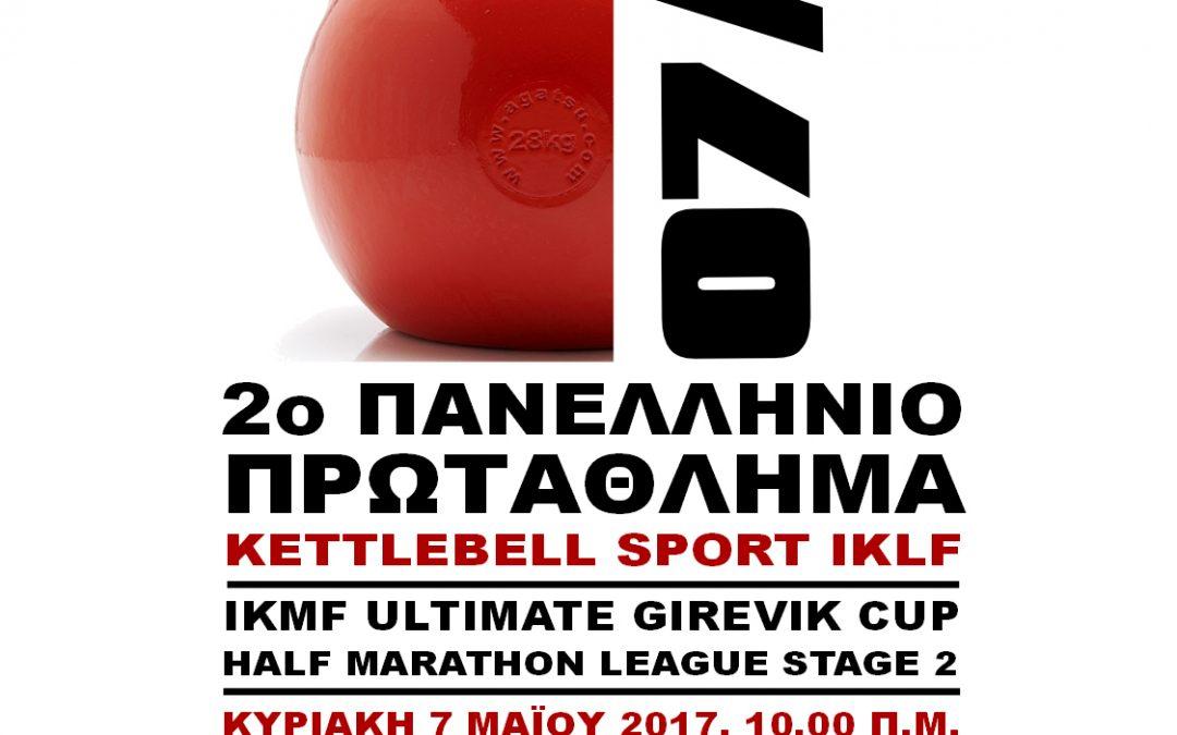 2ο Πανελλήνιο Πρωτάθλημα Kettlebell Sport IKLF – 7 Μαϊου 2017