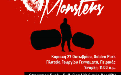 Static Monsters Worldwide – Athens 2019, Strongman Event & Strict Curl Challenge