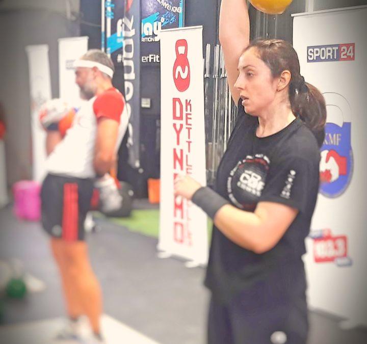 1ο Πανελλήνιο Πρωτάθλημα Πεντάθλου με Kettlebell IKMF, 19/10/2019